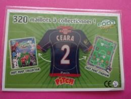 Magnet Football Pasquier Pitch / Paris Ceara 2 Foot - Sports