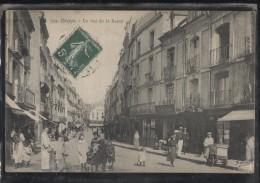 CPA - DIEPPE - LA RUE DE LA BARRE - Edition E.Marchand - Dieppe