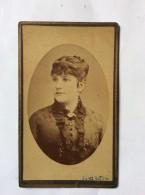 VINTAGE CARDBOARD PHOTO    MANENIZZA  TRIESTE    CROATIA   10,5  X 6,5 Cm. - Antiche (ante 1900)