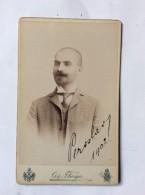 VINTAGE CARDBOARD PHOTO    VARGA  ZAGREB    CROATIA   10,5  X 6,5 Cm. - Alte (vor 1900)