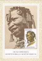 18481. Tarjeta Maxima Etnica SUID WEST AFRICA  SWA. Nativa Bushman- Boesman - África Del Sur (1961-...)