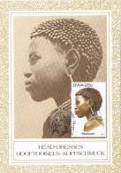 18482. Tarjeta Maxima Etnica SUID WEST AFRICA  SWA. Nativa Kwaluudni - África Del Sur (1961-...)