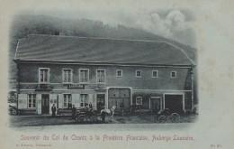 SOUVENIR DU COL DE HANTZ A LA FRONTIERE FRANCAISE AUBERGE LAUNAIRE - Autres Communes