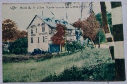 Belgique Wellin Hôtel Du Ry D´Ave . Vue De La Route Des Grottes De Han - Wellin