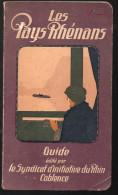 Guide LES PAYS RHENANS édité Par Le SI De Coblence 1919 (F.6700) - Dépliants Touristiques