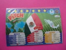 Magnet Pasquier Pitch Drapeau Mexique Mexico México - Tourisme