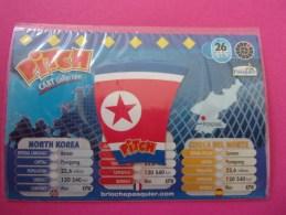 Magnet Pasquier Pitch Drapeau Corée Du Nord North Korea Corea Del Norte Pyongyang - Tourisme