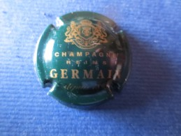 GERMAIN Vert Foncé Et Or - Germain