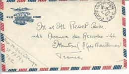 """""""poste Aux Armées T.O.E.""""  1952 Du SP 57524 - Marcophilie (Lettres)"""