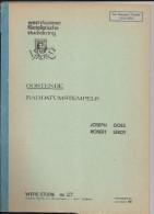 OOSTENDE RADDATUMSTEMPELS  Par Goes Et Leroy 35 Pages - Belgique