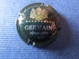 GERMAIN Vert Foncé Et Argent. QUART - Germain