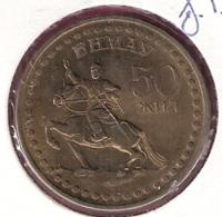 MONGOLIE TUGRIK 1971 MAN ON HORSEBACK Y34 - Mongolia