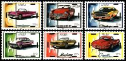 ~~~ Aruba 2014 - Classic Cars - NVPH 744/749 ** MNH ~~~ - Curaçao, Antilles Neérlandaises, Aruba