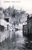 LUXEMBOURG - L'Alzette Au Grund, Hotel Clesse, 1905? - Ansichtskarten