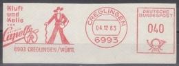 Da003 - Germany (FRG) AFS Creglingen 1963 , Capelle - BRD