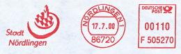Freistempel 2687 Stadt Nördlingen - BRD