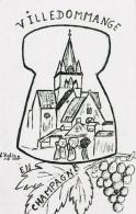VILLEDOMMANGE 3EME BOURSE AUX COLLECTIONS 30/01/1994 (dil223) - Bourses & Salons De Collections