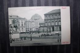 ZZ - ITALIE  - CAMPANIA  - NAPOLI - Piazza Del Plebiscito - PUBBLICITA DUNOISE - Napoli (Naples)