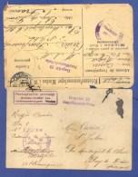 CARTE PHOTO ET CARTE LETTRE DE PRISONNIERS DU 98° RI AU GEPRÜFT 28 à MINDEN WESTFALIE - ALLEMAGNE DOCUMENTS COUSUS ENSE. - Guerra 1914-18