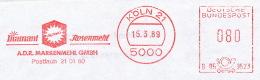 Freistempel 2708 Diamant Mehl - Marcophilie - EMA (Empreintes Machines)