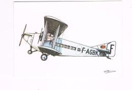AVION CAUDRON C 81 TRIMOTEUR  COMPAGNIE FRANCO ROUMAINE - Avions
