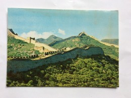 CHINA  SUMMER OVER  PA TA LING         Old Postcard - Cina