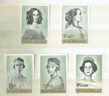 1962  Reines De Belgique - Lutte Contre La Tuberculose  **  MNH - Neufs