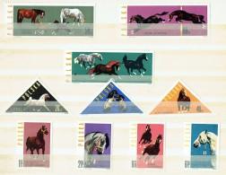1963   Chevaux    Série Complète  **  MNH - Unused Stamps