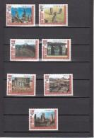 1999 Chad Tchad Wonders Of The World Stonehenge Machu Pichu Easter Island  Complete Set Of 7  MNH - Tchad (1960-...)