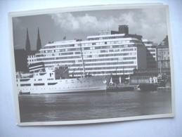 Finland Suomi Helsingfors Helsinki Hotel Palace And Boat - Finland