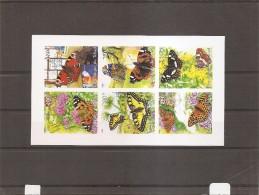 Papillons ( BF Privé Non Dentelé XXX -MNH- Du Tchad) - Mariposas
