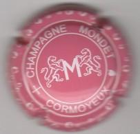 CAPSULE DE CHAMPAGNE MONDET N° 7 ROSE ET BLANC  COTE 1.50 EURO - Sonstige