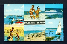 ENGLAND  -  Hayling Island  Multi View  Used Postcard - Other