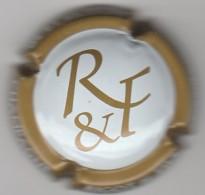 CAPSULE DE CHAMPAGNE RIGOT ET FILS N° 7 BLANC CTR OR FONCE  COTE 1.50 EURO - Sonstige