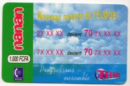 BURKINA FASO Prepayé ONATEL NANAN 1000 FCFA - Burkina Faso