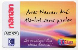 BURKINA FASO Prepayé ONATEL NANAN 2500 FCFA - Burkina Faso