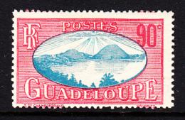 Guadeloupe MH Scott #118 90c Saints Roadstead - Unused Stamps