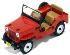 Willys Jeep CJ3B - Red - 1953 - Premium X - Ixo