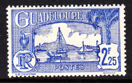 Guadeloupe MH Scott #132 2.25fr Harbour Scene - Guadeloupe (1884-1947)