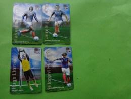 Lots De Magnets Carrefour Fff  Maloda-lloris-toulalan-diarra - Sports