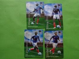 Lots De Magnets Carrefour Fff Diarra-gignac-diarra--sissoko- - Sport