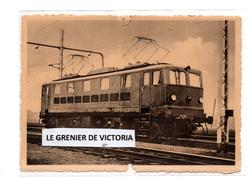 Locomotive élctrique 1949   Type 121   Loco BoBo  - Train Gare - Trains