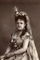 France Opera Miss Priola Dans Le Roi L'a Dit Ancienne Photoglyptie Photo 1875 - Old (before 1900)