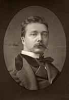 France Peintre Jules Lefebvre Ancienne Photoglyptie Photo Pierre Petit 1875 - Photos