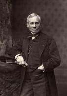 France Comedie Francaise Acteur Francois Joseph Touzet Dit Regnier Ancienne Photo Bondonneau 1875 - Photographs