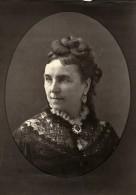 France Theatre Actrice Augustine Scriwaneck Ancienne Photoglyptie Photo Liebert 1875 - Photographs