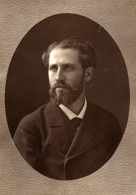 France Opera Chanteur Baryton Bouhy Ancienne Photoglyptie Photo Liebert 1875 - Photographs