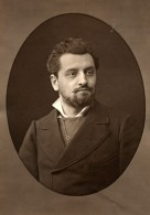 France Opera Chanteur Tenor Theodore Stephanne Ancienne Photoglyptie Photo Liebert 1875 - Photographs