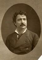France Opera Chanteur Angelo Masini Ancienne Photoglyptie Photo Mulnier 1875 - Photographs