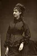 France Opera Chanteuse Hyacinthe Derval Ancienne Photoglyptie Photo Carjat 1875 - Photographs